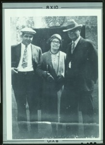 REH and his parents, Hester and Dr. Isaac Howard