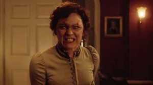 "Who's this? It's Rachael Stirling as Ada Gillyflower in ""The Crimson Horror."""