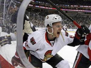 Karlsson screams in agony as his Achilles' tendon is slashed.