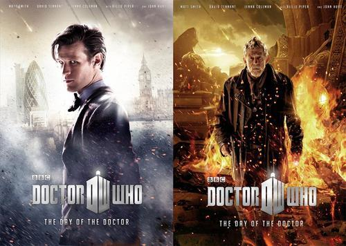 are leaked doctor who 50th posters real read at joes