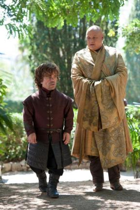 Tyrion Lannister and Lord Varys