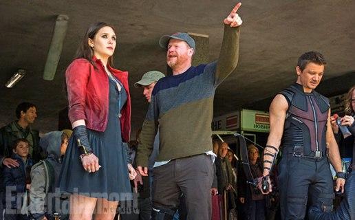 Joss Whedon directs Elizabeth Olsen