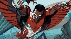Sam Wilson as the Falcon