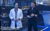 Bruce Banner and Tony Stark
