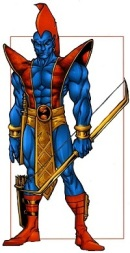 Yondu is an archer in the comics.