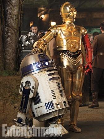 R2D2 and C-3PO