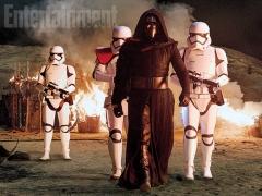 Kylo Ren and troops