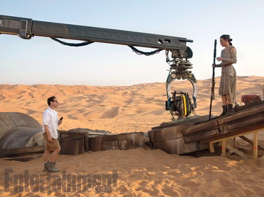 Abrams directs Ridley