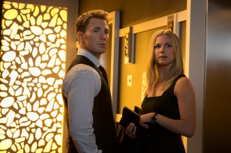 Steve Rogers and Sharon Carter