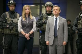 Agent 13 and Everett Ross